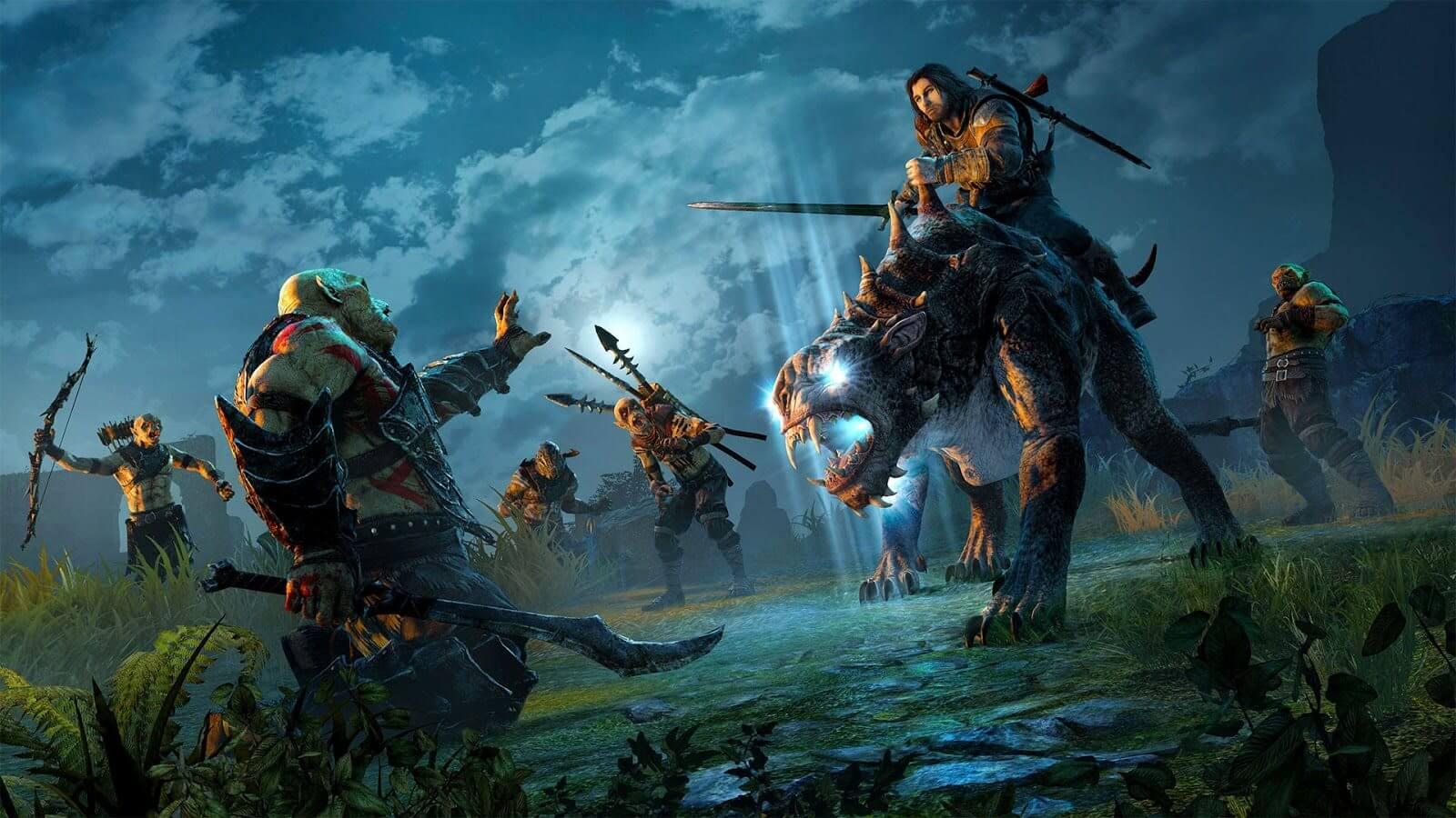 """Middle earth Shadow of War 1080P Wallpaper 1 - Confira o novo trailer de """"Terra-Média: Sombras da Guerra"""""""
