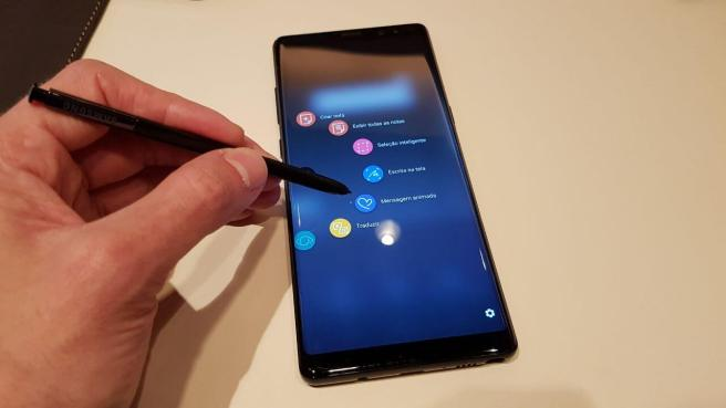 HANDS-ON: Primeiras impressões do Galaxay Note 8