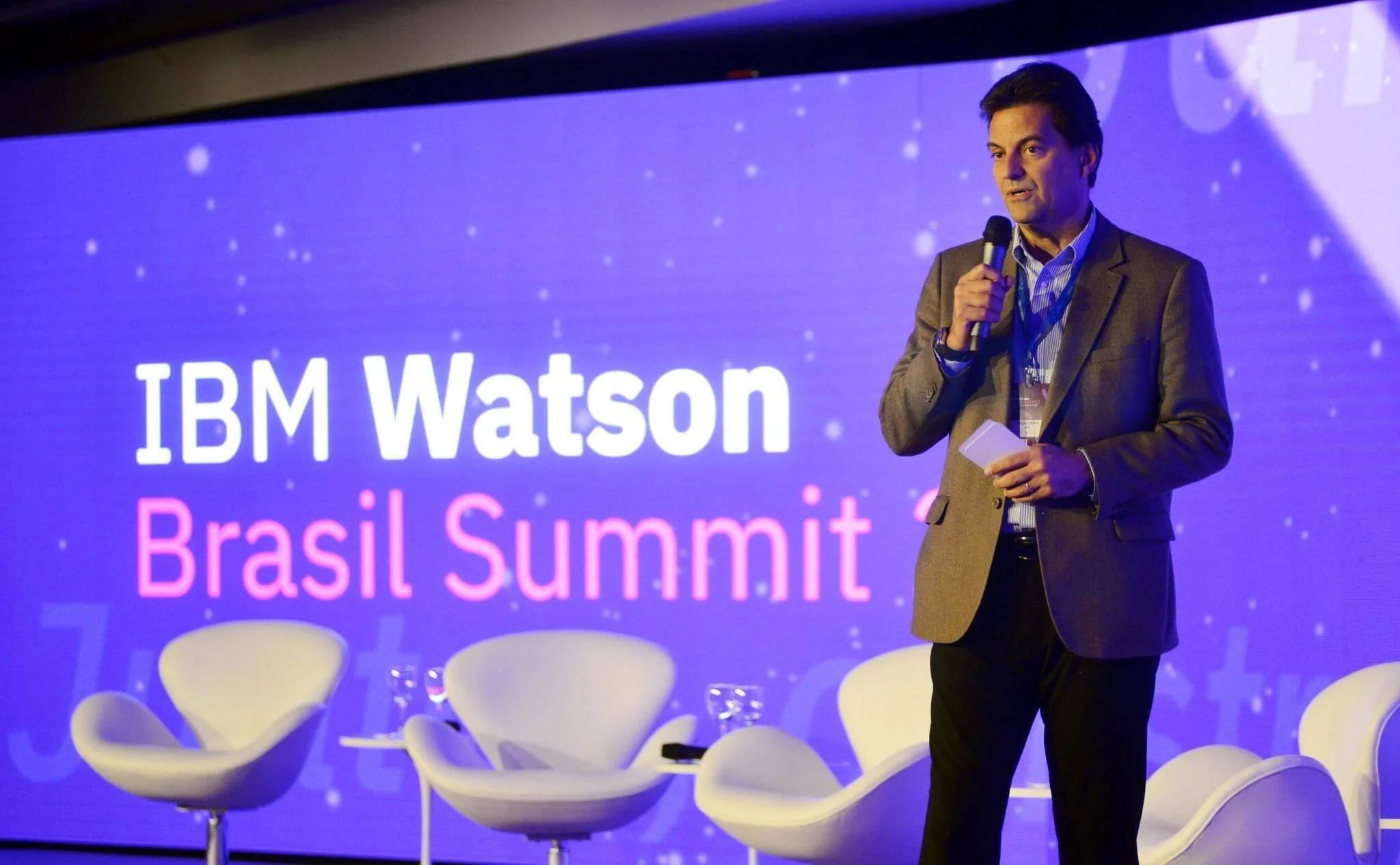 Marcelo Porto presidente da IBM no Brasil - O IBM Watson Summit e o futuro das máquinas inteligentes