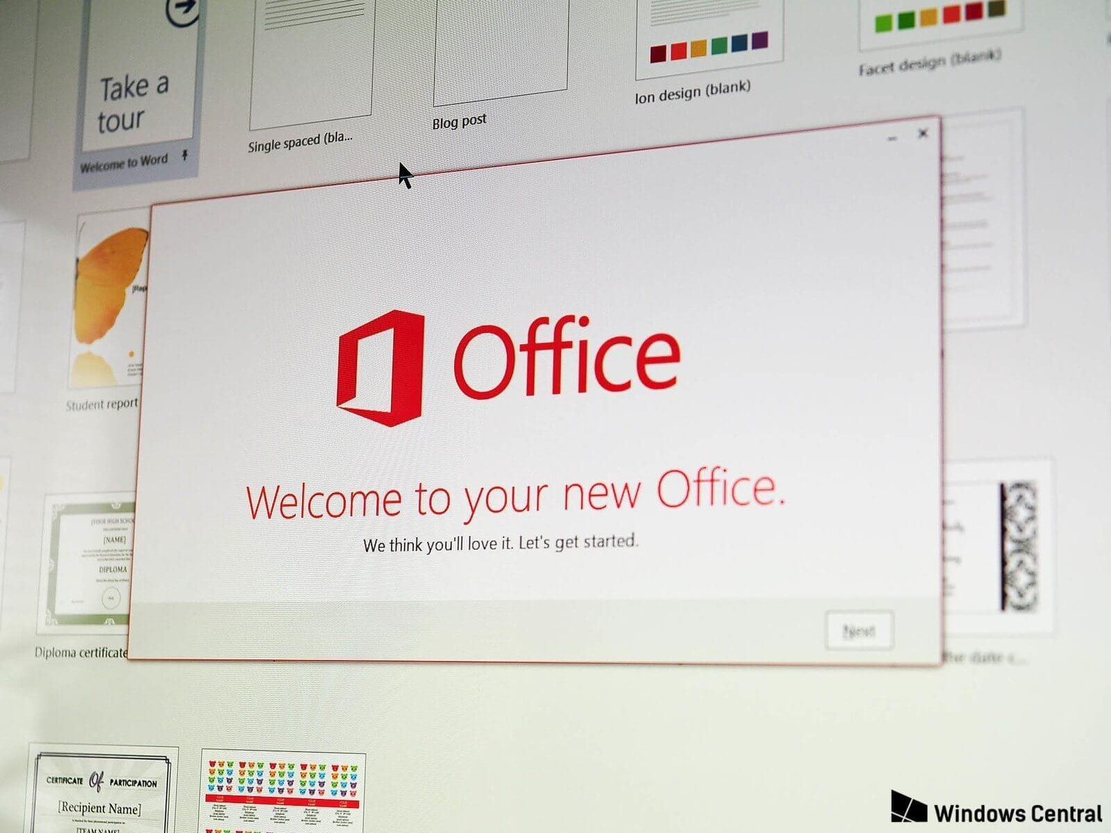 Novo office 2019 - Microsoft anuncia lançamento do novo Office 2019 para 2018