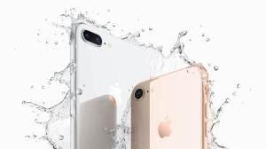 iPhone8Plus iPhone8 water - Apple anuncia novos iPhone 8 e iPhone 8 Plus