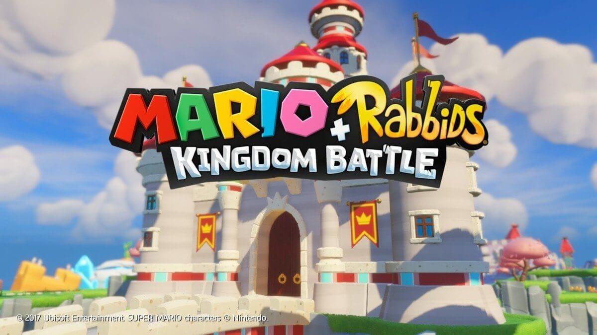 mario rabbids kingdom battle title screen - Review: Mario + Rabbids Kingdom Battle para Nintendo Switch