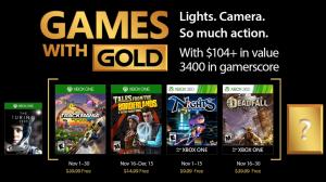 Games with Gold: jogos grátis na Live para novembro de 2017