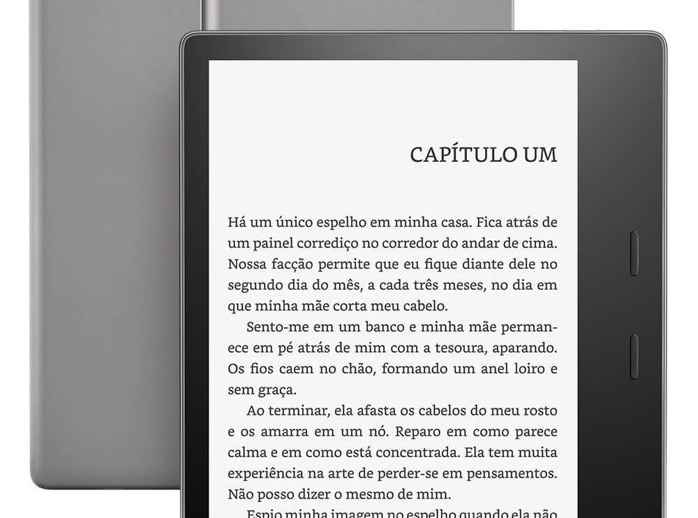 Amazon lança o novo Kindle Oasis no Brasil 4