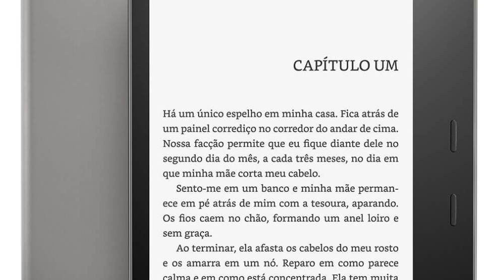 Amazon lança o novo Kindle Oasis no Brasil 3