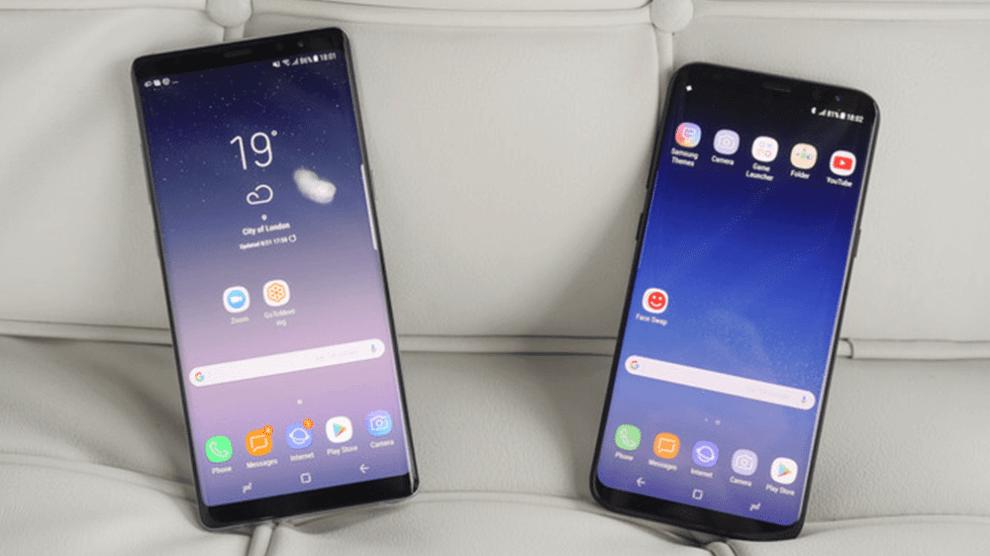 Teste de velocidade: Galaxy Note 8 x Galaxy S8 Plus 3