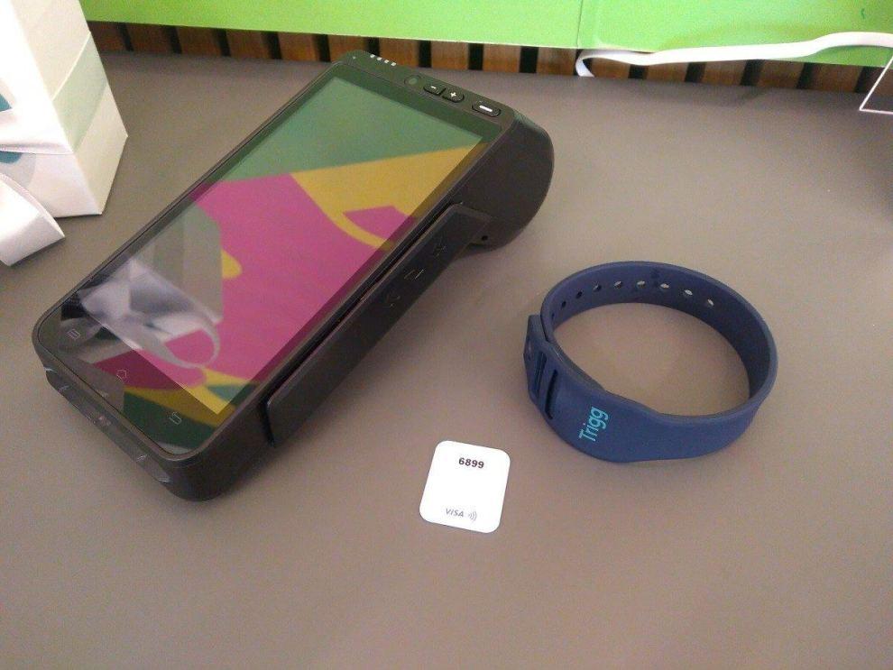 trigg visa pulseira destaque - Trigg lança cartão de crédito em formato de pulseira