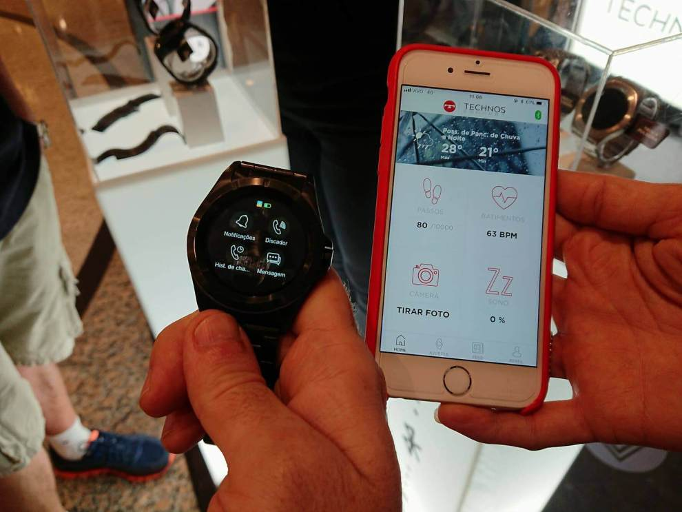 Technos lança o primeiro smartwatch brasileiro com Full Display Touch 4 dc08c6bf26