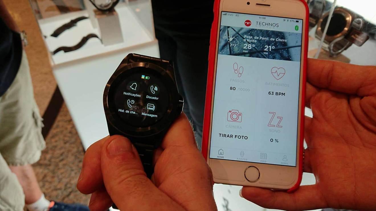 Technos lança o primeiro smartwatch brasileiro com Full Display Touch 4