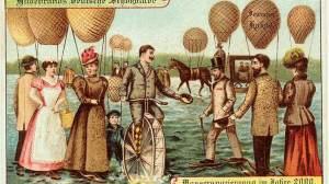 Caminhada sobre as águas com ajuda de balões