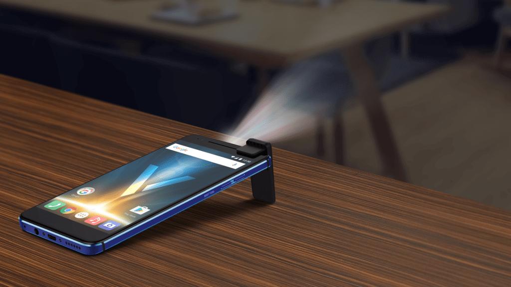 Quantum V, o smartphone com projetor a laser começa a ser distribuído 6
