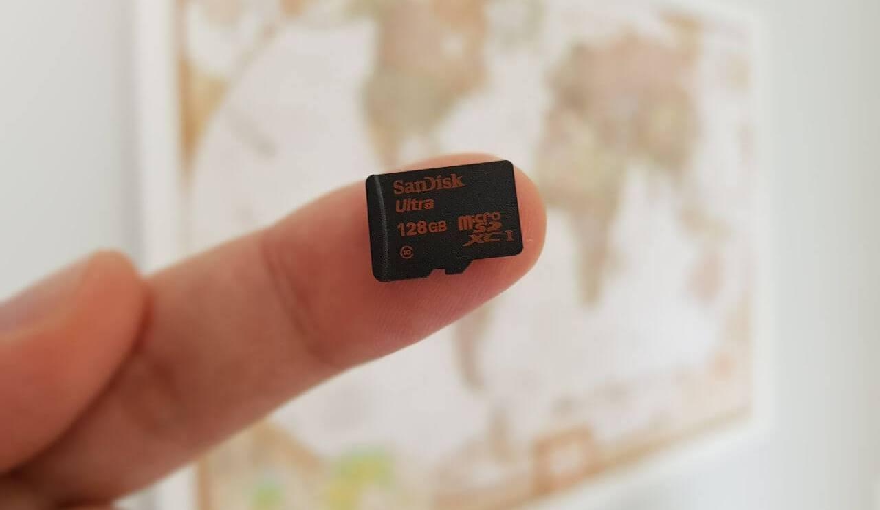 Review: SanDisk cartão micro SDXC Classe 10 I-3 128 GB