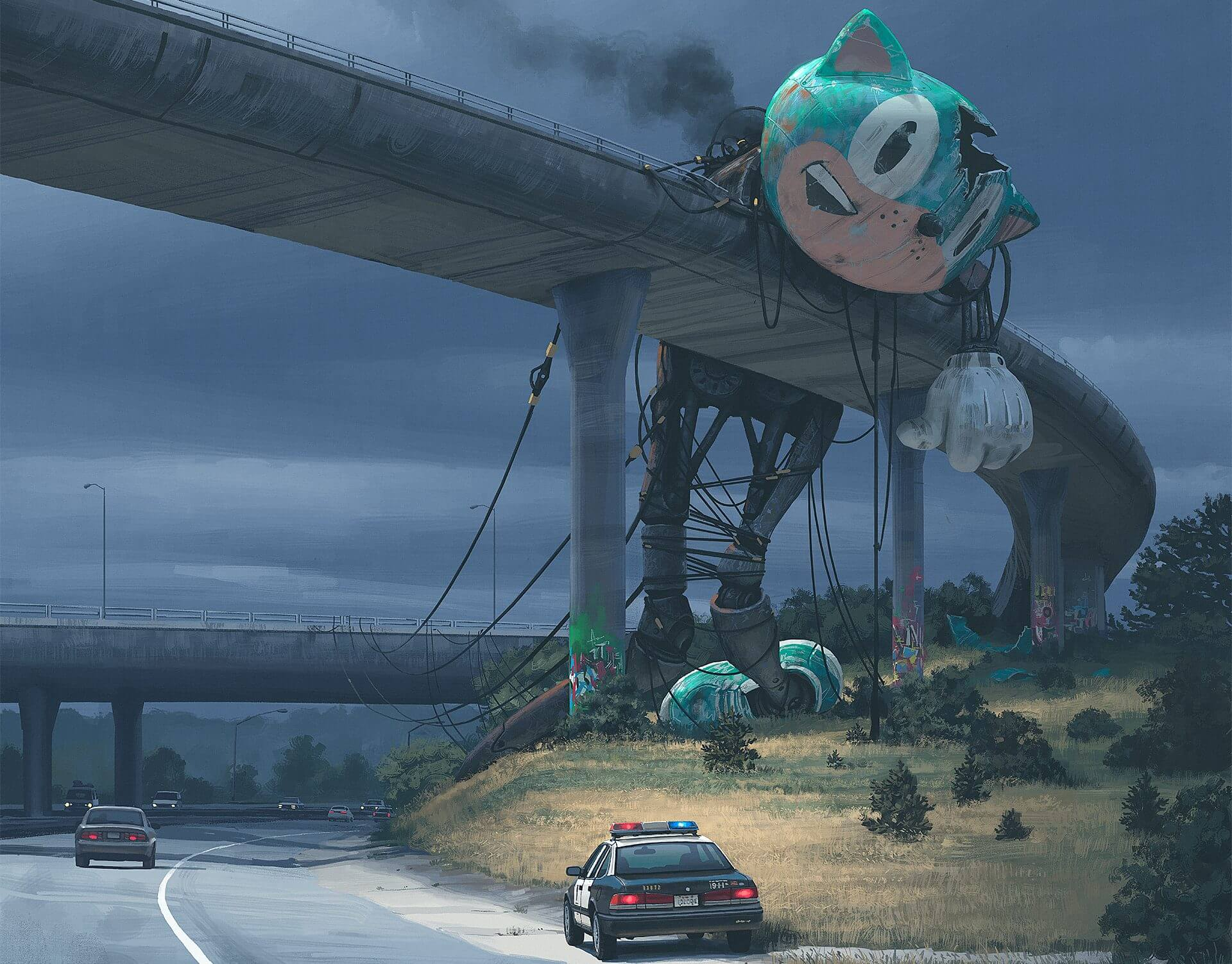 destaque e1513632120277 - SURREAL: artista sueco cria paisagens futurísticas impressionantes