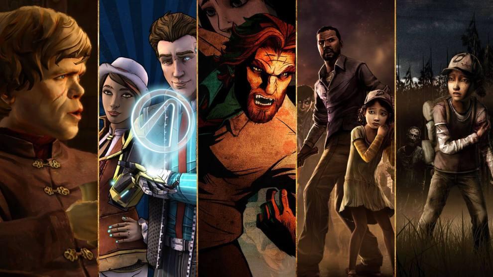 telltalegames medley 1 - Nosso Top 5 jogos da Telltale Games