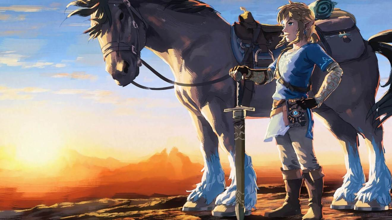 the legend of zelda artwork image 2880x1800 - Video Game Awards 2017: Zelda Breath of the Wild leva prêmio de jogo do ano