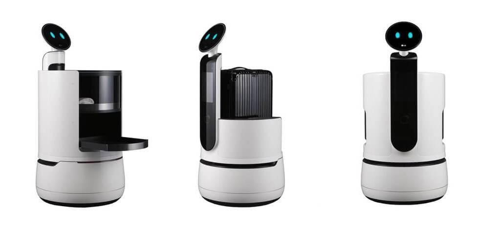 CES 2018: LG anuncia três novos robôs para a sua linha CLOi 3