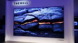 """CES 2018: """"The Wall"""", conheça a TV modular de 146 polegadas com MicroLED da Samsung"""