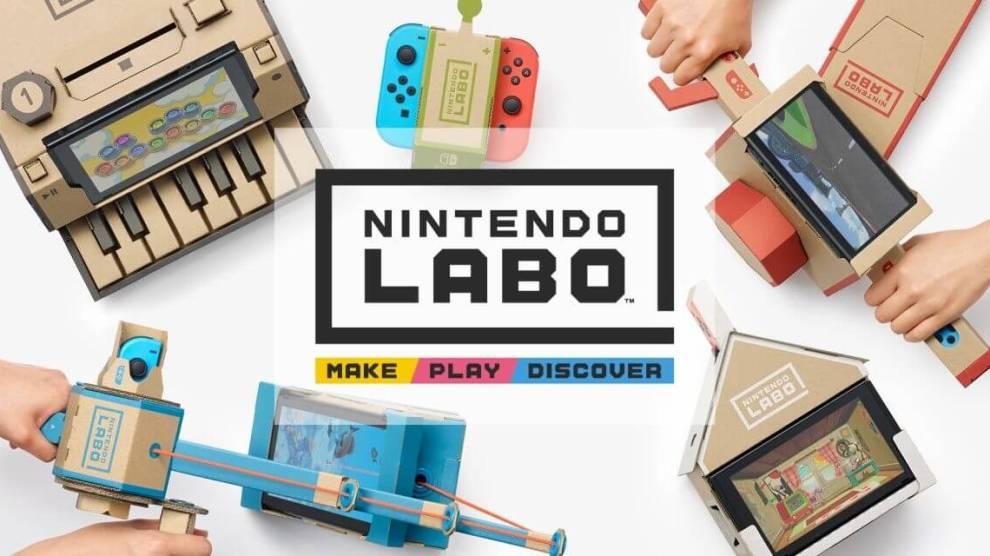 Nintendo Labo é a nova forma de brincar e interagir com o Switch 6