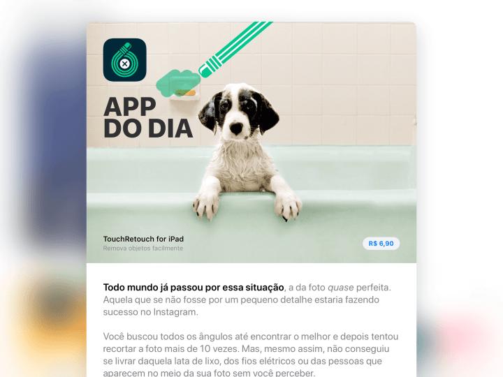 Agora você pode fazer compras na App Store em Reais
