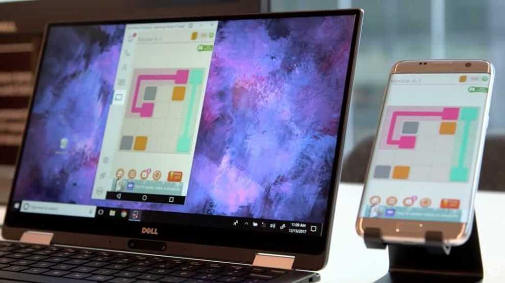 CES 2018: Dell lança aplicativo que permite controlar smartphone com o PC 3