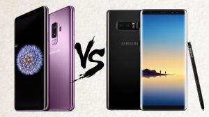 capa 1 - Samsung Galaxy S9+ vs Galaxy Note 8: Quais são as principais diferenças?