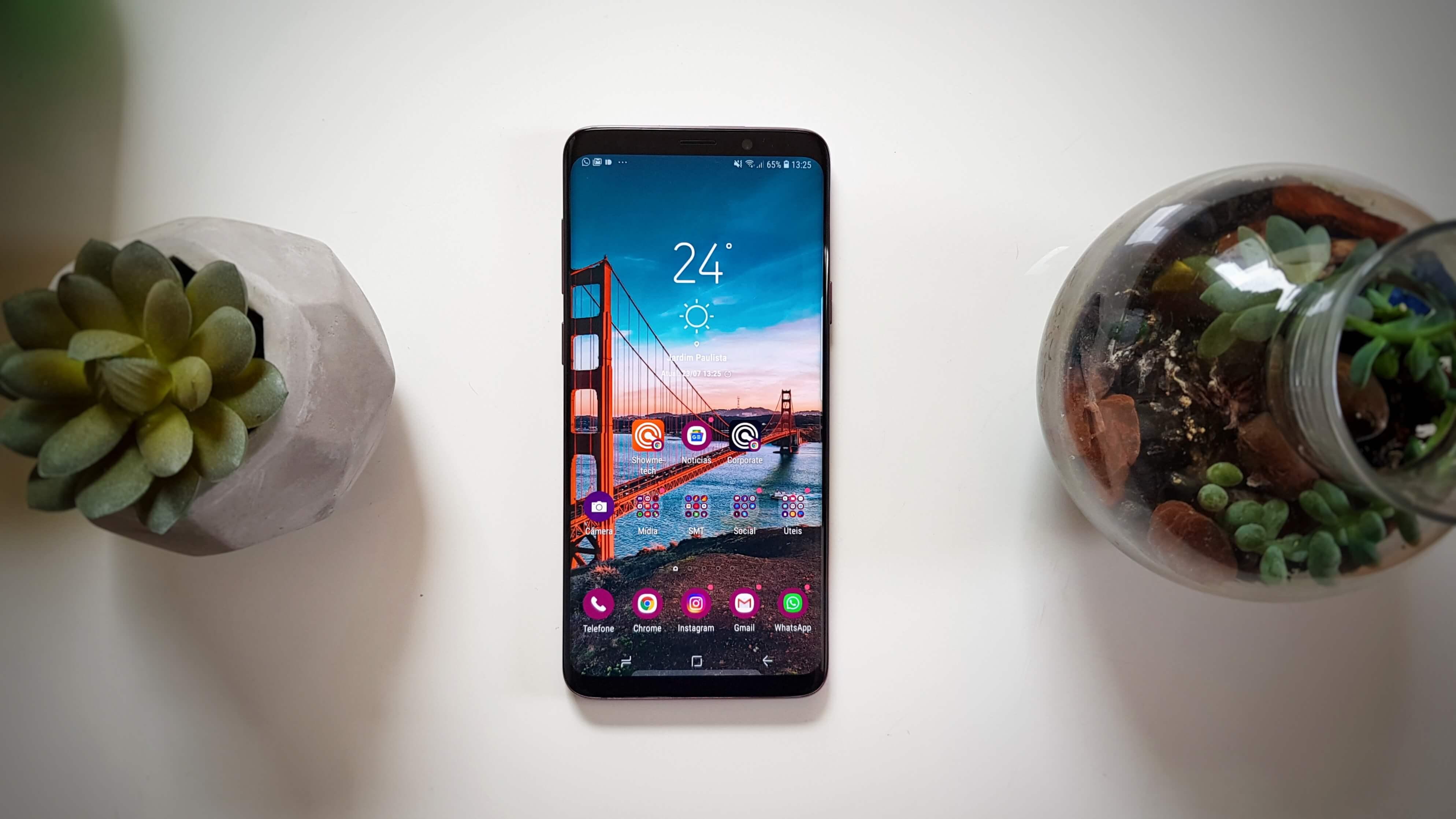 c58138046 REVIEW  Galaxy S9 e S9+ e sua câmera reimaginada