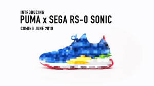 Puma faz parceria com Sega para lançar tênis de Sonic 8