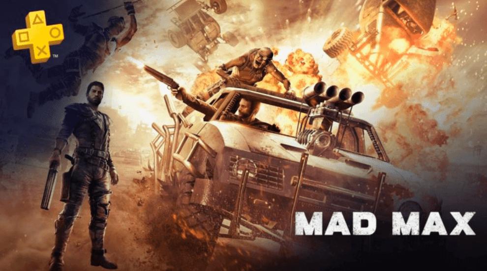 PS Plus de abril terá Mad Max e muito mais 4