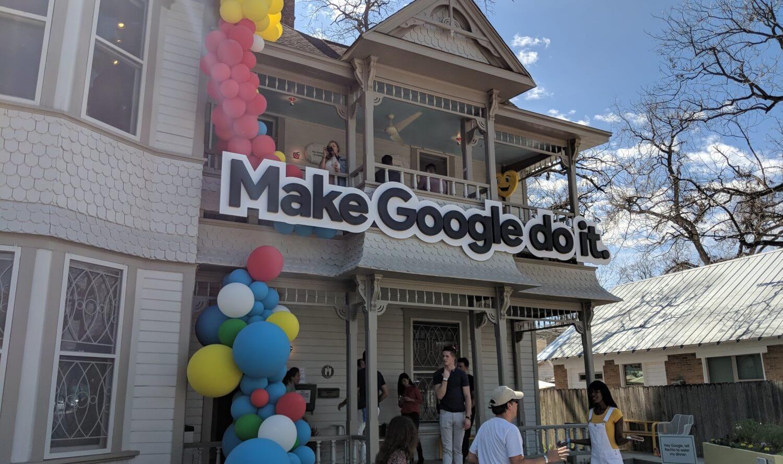 google assistant fun house1 - SXSW: Faça um tour pela casa divertida do Google Assistente