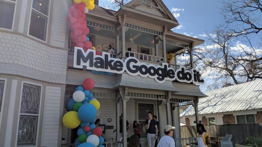 SXSW: Faça um tour pela casa divertida do Google Assistente 8