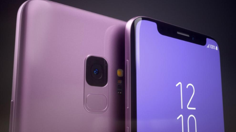 Assim seria o Galaxy S9 se ele tivesse o notch do iPhone X 6