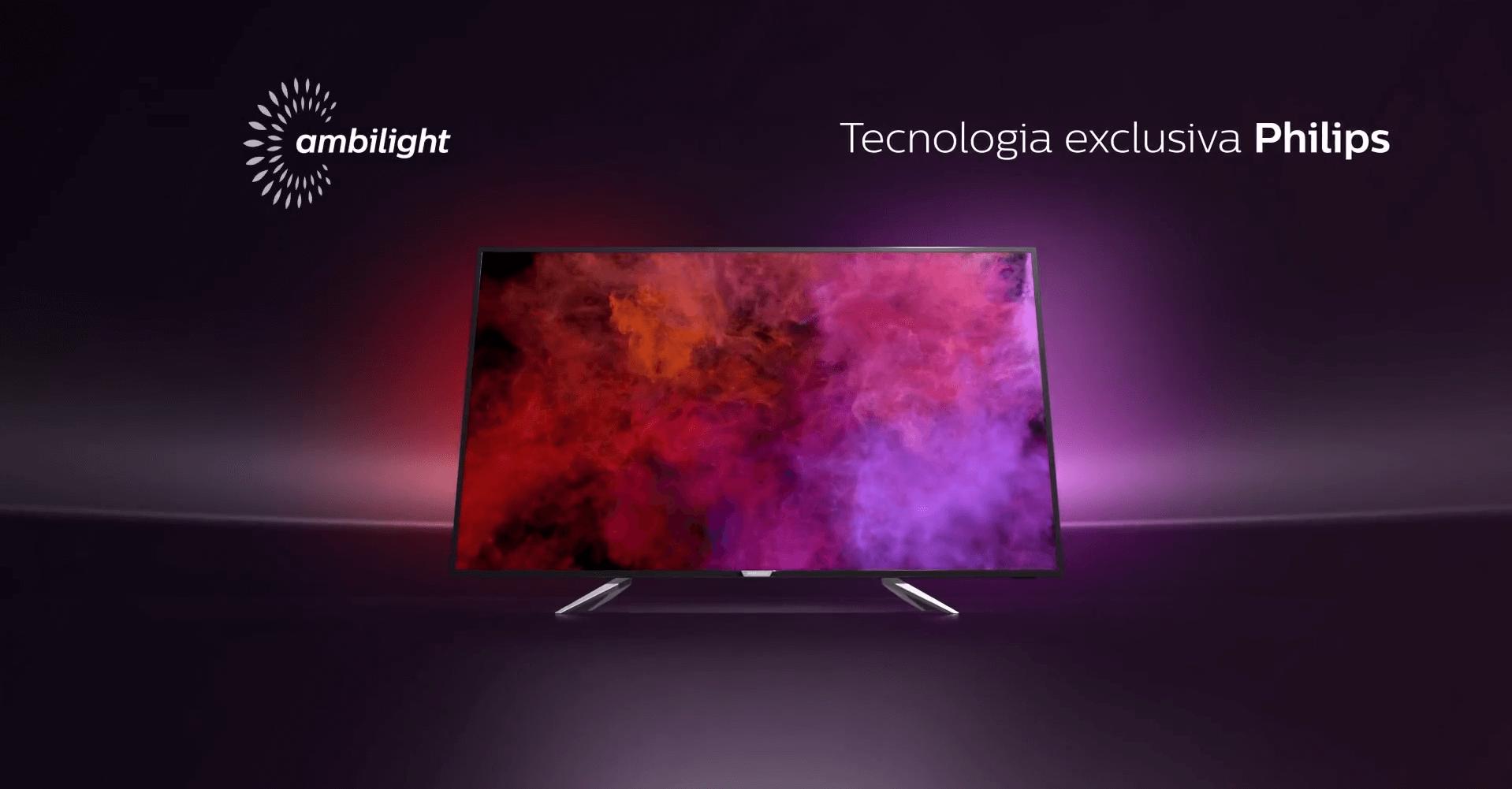 Captura de Tela 220 - Novas Smart TVs Philips com tecnologia Ambilight estão sendo produzidas no Brasil