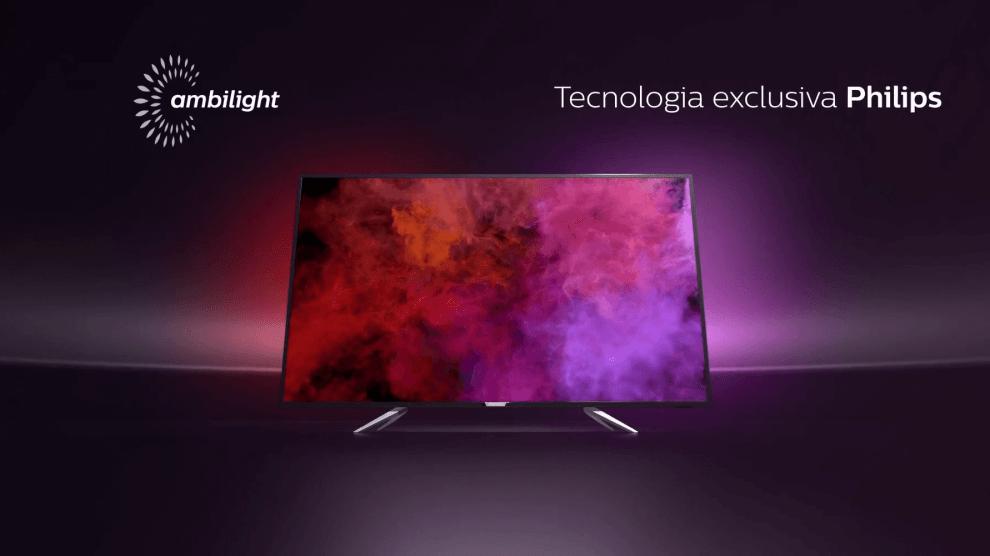 Novas Smart TVs Philips com tecnologia Ambilight estão sendo produzidas no Brasil