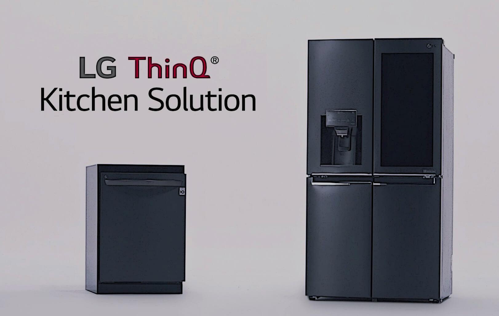 LG ThinQ Kitchen Solution Release crop - Eletrodomésticos da LG agora suportam Amazon Alexa e Google Assistente
