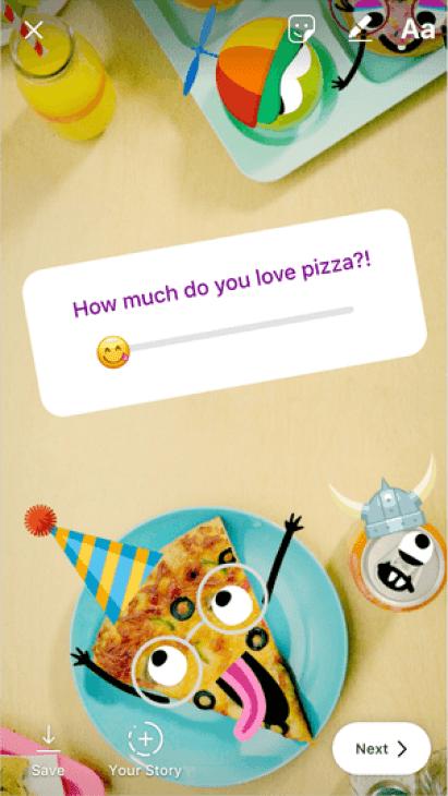 Novo adesivo do Instagram Stories permite que você saiba a opinião exata de seu público 7