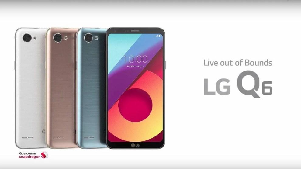 LG Q6 e Q6+ ganham atualização de software que traz modo retrato para a câmera de selfie 6