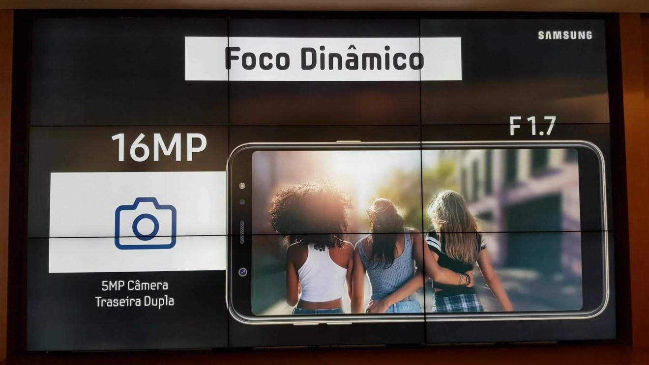 Galaxy A6+ chega ao Brasil com funções do S9+ e preço reduzido 10
