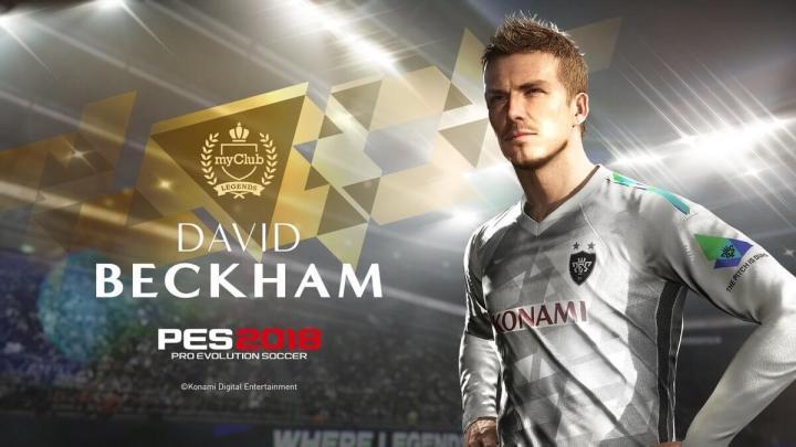 Beckhan 720x405 - Konami anuncia detalhes do PES 2019 e lançamento para 30 de agosto