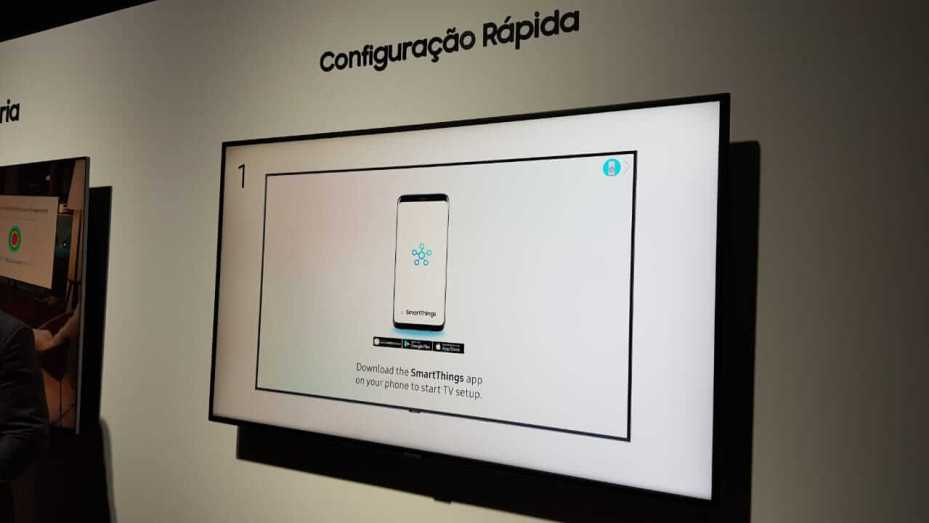 Samsung apresenta novas TVs QLED 2018 no Brasil 13