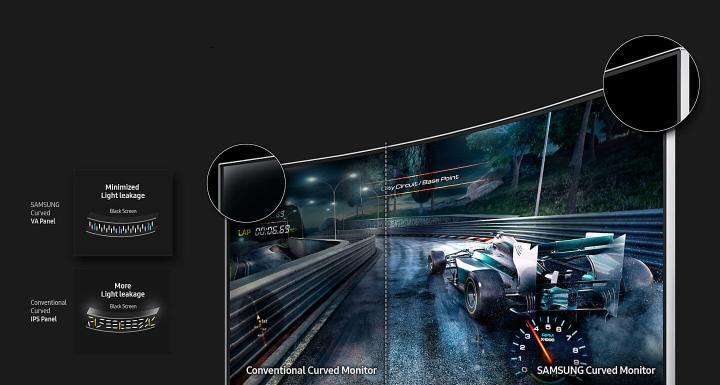 Review: Monitor Samsung 24CF390 e suas curvas sensuais 12