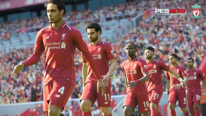 PES 2019 Liverpool FC 720x405 - Konami anuncia detalhes do PES 2019 e lançamento para 30 de agosto
