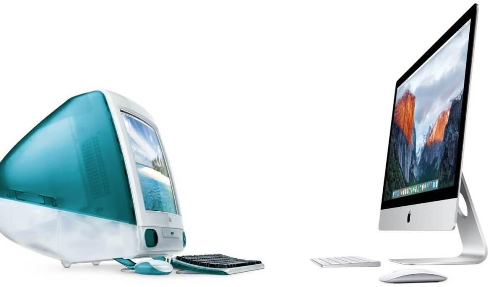 iMac   Then and Now   Apple 2 - 20 anos de iMac: Conheça a trajetória do computador mais icônico da Apple