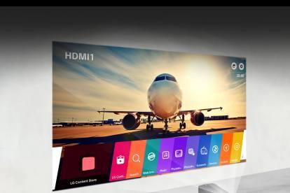 web os PF1000UW 1600px v2 - Cine Beam Smart TV PF1000UW, novo projetor de curta distância da LG chega ao Brasil