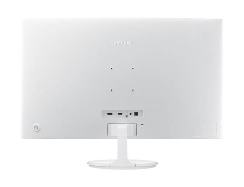 Review: monitor curvo Samsung C32F391 mescla imersão e elegância 6