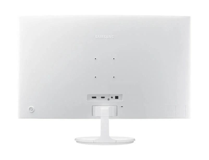 Review: monitor curvo Samsung C32F391 mescla imersão e elegância 8