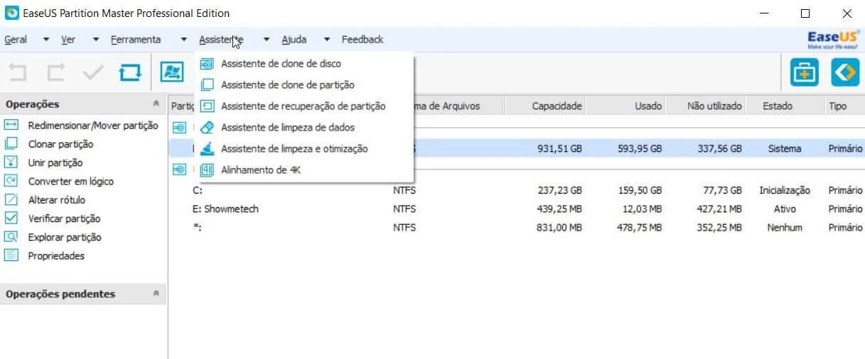 Conheça o Partition Manager, o melhor gerenciador para o seu HD ou SSD 12