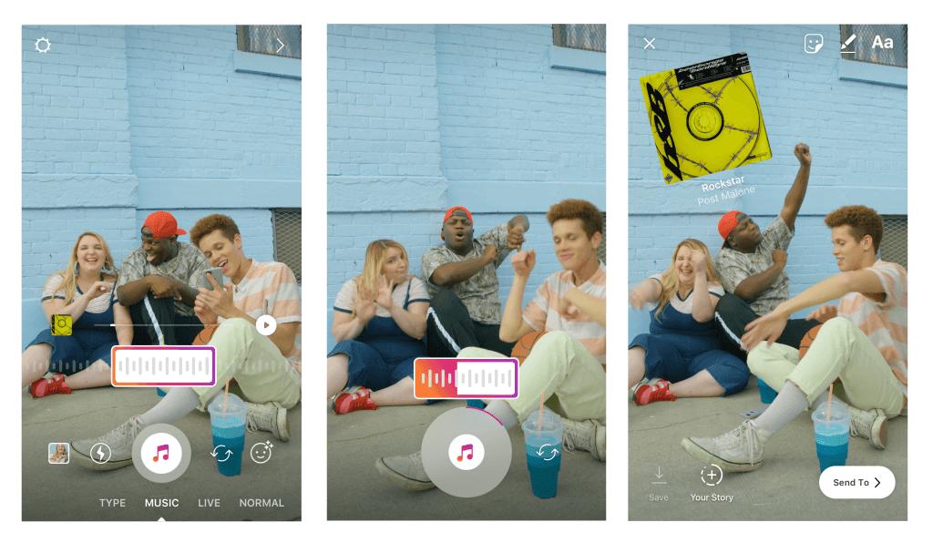 Instagram Stories terá trilha sonora 5