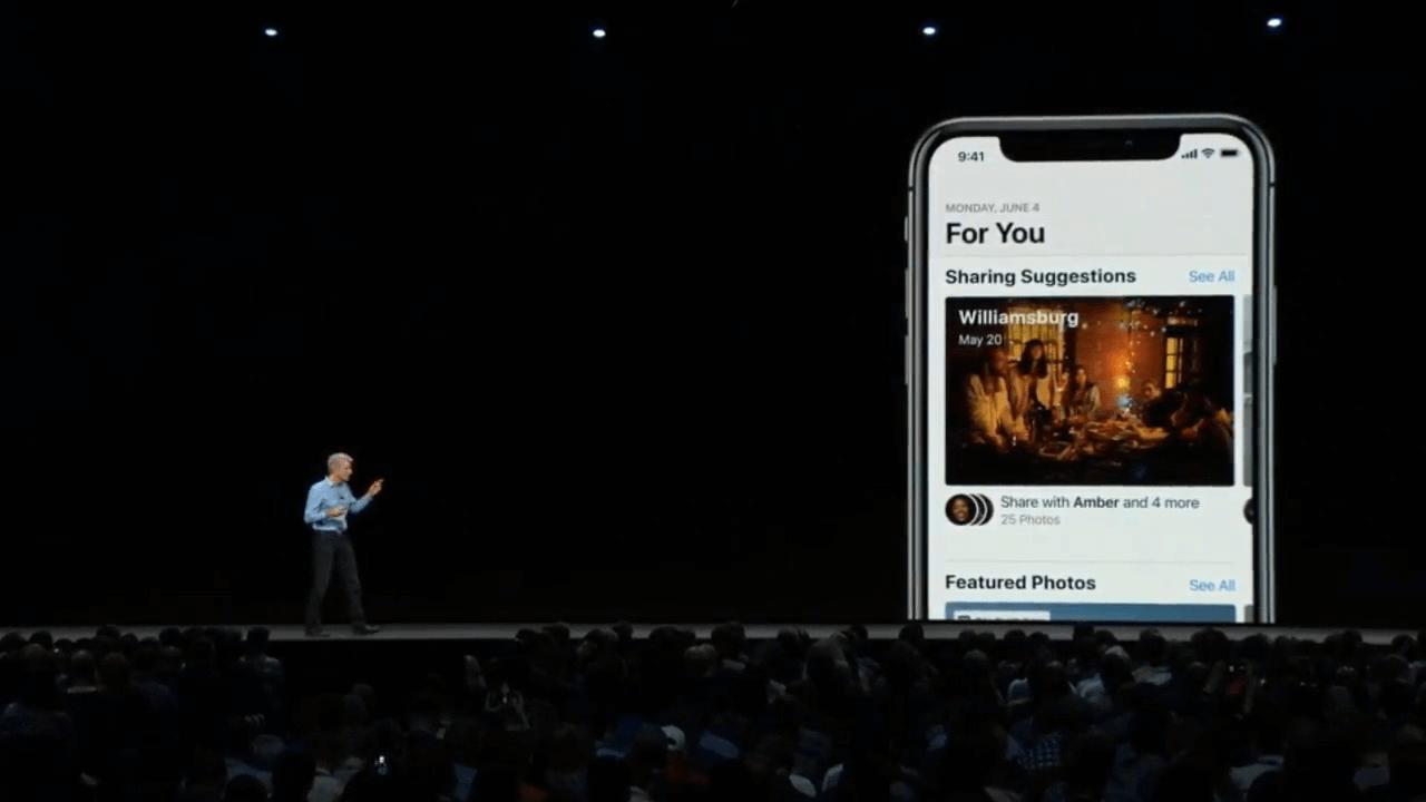 fotos sugestões - WWDC18: iOS 12 chega com Realidade Aumentada compartilhada e Notificações em Grupo