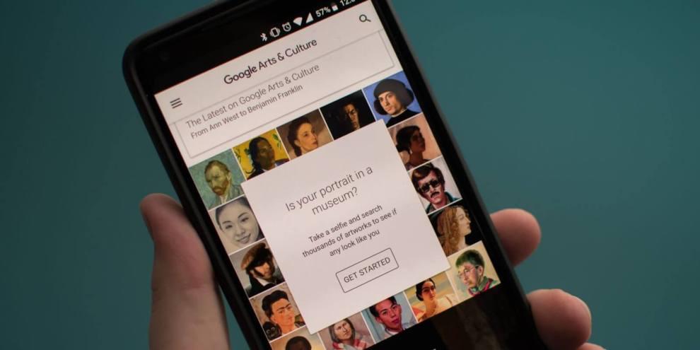 google arts culture application 1 - Função Art Selfie do Google Arts and Culture chega ao Brasil