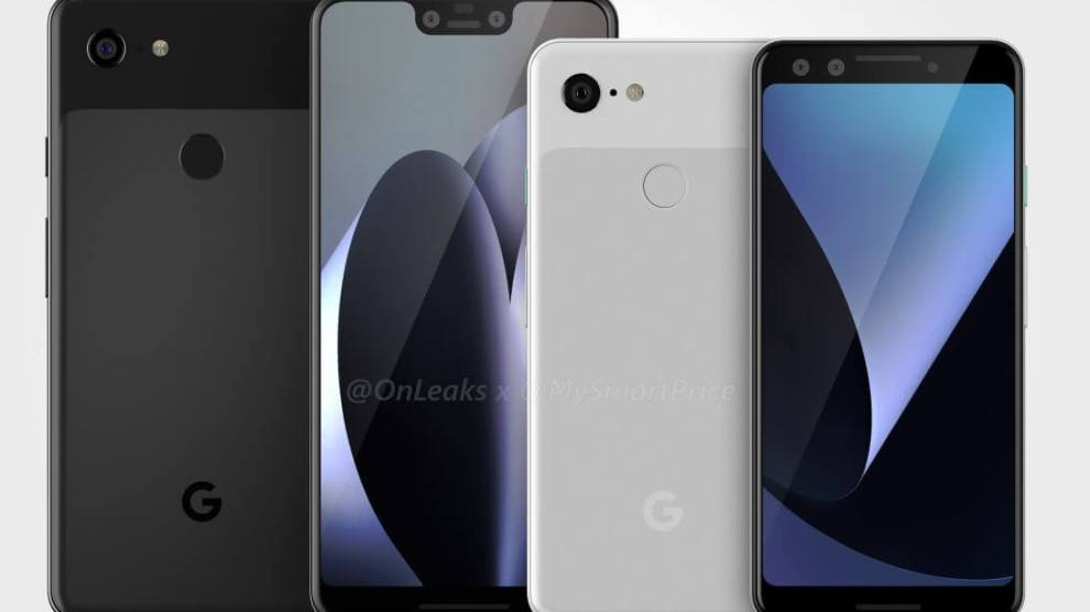 Google Pixel 3 e Pixel 3 XL aparecem em imagens renderizadas 4